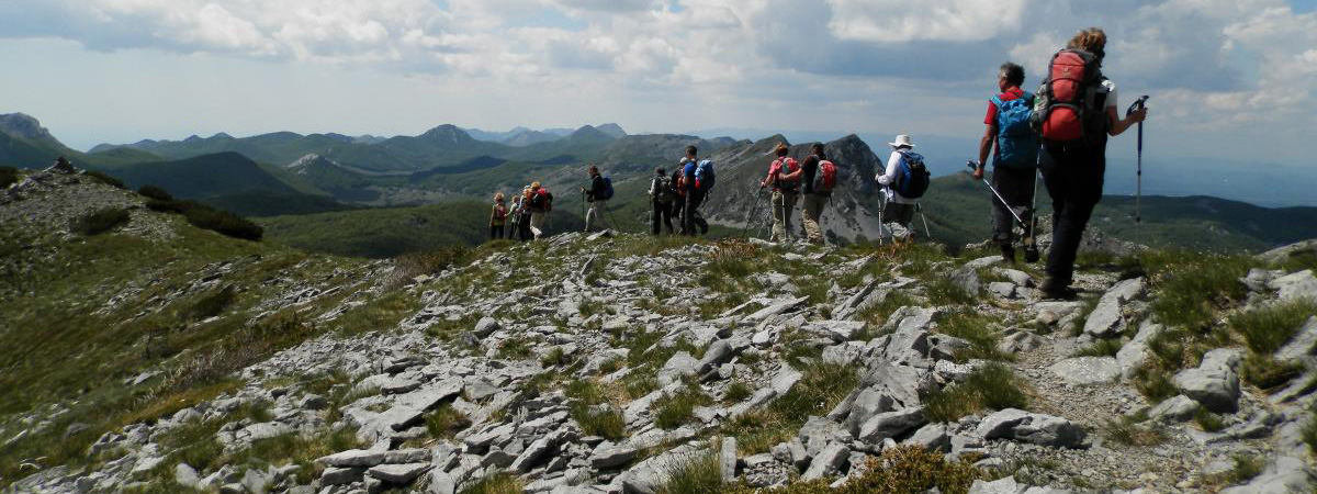 Velebit hiking